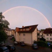 Двойная радуга  с балкона :: Ilya Gilfand