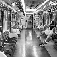 Одинокие в последнем поезде. :: Ilona An