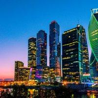 Москва-Сити_1 :: Valeri Lubiako