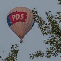 На большом воздушном шаре :: Сергей Цветков