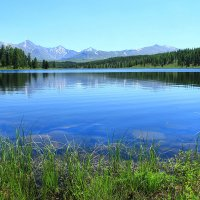Зеркало для неба. Южный Алтай. Озеро. :: Natalya Danilova