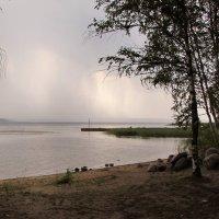 Дождь приближается... :: Ирина Румянцева
