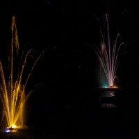 Ночные фонтаны :: Дмитрий Сиялов