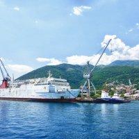 Маленький морской порт.... :: Светлана Игнатьева