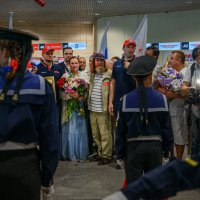 Встреча Ф.Ф.Конюхова. :: Татьяна Полянская