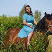 Олеся и Марс :: Кристина Щукина
