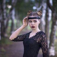 Берёзовая аллея :: Женя Рыжов