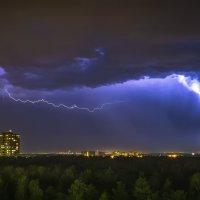 Гроза в Балашихе 07-08-2016 :: Алексей Строганов