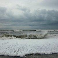 Когда на море шторм... :: Виолетта