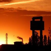 закатное солнце :: Александр Прокудин