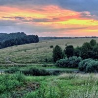 панорама летнего утра :: юрий иванов