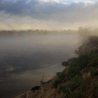 Туман над рекой :: Ирина Приходько