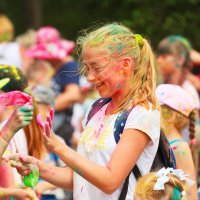 Фестиваль красок в Славянке :: Валерия Валерия