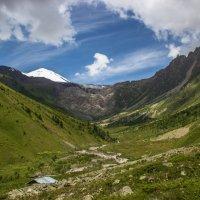 IMG_3805  Терскольское ущ и Эльбрус :: Олег Петрушин