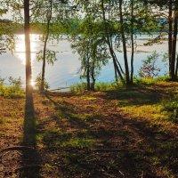 Вечерние тени на берегу :: Анатолий Иргл