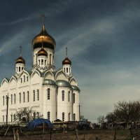 Храм на слиянии двух морей :: Вадим