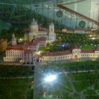 Макет Лавры из самой Александра-Невской Лавры. (Санкт-Петербург) :: Светлана Калмыкова