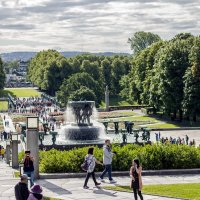 Парк скульптур Вигеланда.(Осло) :: Александр Лейкум