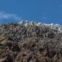 IMG_3919 вершина ледника Терскол :: Олег Петрушин