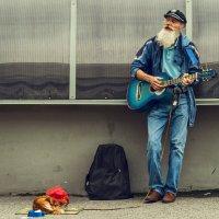 Уличный музыкант :: Тихон Звягин