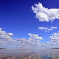 Облака в синеве :: Ольга