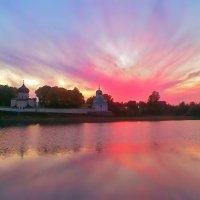 Псковские закаты :: Валентина Ломакина