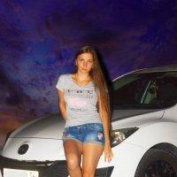 Ночная прогулка на авто 1 :: Мария