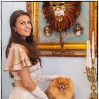Дама с собачкой :: Леонид