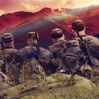 Пусть горы рассудят, кем были мы в краю далёком... :: Виктор Никаноров
