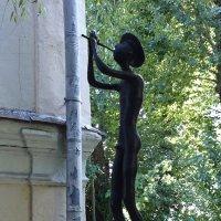 Некто, играющий на флейте. :: Galina194701