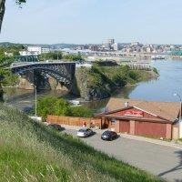 Городок Сент Джон и одноименная река (Нью-Брансуик, Канада) :: Юрий Поляков