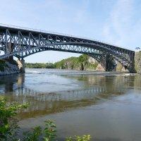 Мост через р. Сент Джон (Нью-Брансуик, Канада) :: Юрий Поляков