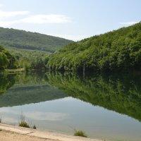 Озеро в п. Высокое, Крым :: Тамара Мадюдина