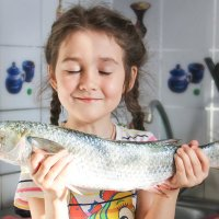 Дочь рыбака :: Gulyara Rostovtseva