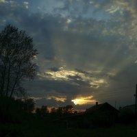 лучистый закат :: Александр Иванов