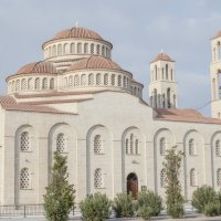Церковь святых бессребренников в Пафосе :: Юрий Захаров