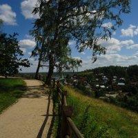 Плёс.Соборная гора. :: Евгения Куприянова