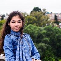 Елена на мосту :: Инна Вольных