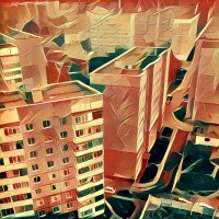 Ярославль на закате, через Призму :: Алексадр Мякшин