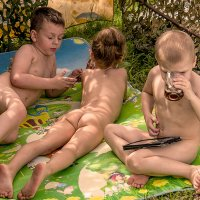 Лето-детство-безмятежность ! :: Евгений Ананевский