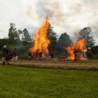 Сожжение деревни. :: Дмитрий Гринкевич