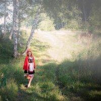 Красная шапочка  и серый волк :: Евгения Сихова