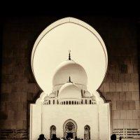Белая мечеть шейха Зайда. :: Анатолий Щербак
