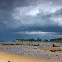 Вид с о.Фаресов на о. Край Земли, архипелаг Кий-острова, Белое море :: Nikolay Zinoviev