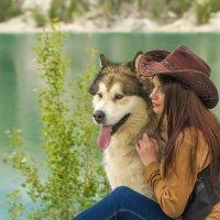 Девушка на озере :: Полина Душенкова
