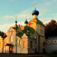 Церковь во имя Тихвинской Божией Матери. :: Сергей Кочнев