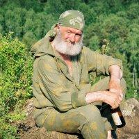 На скале :: Дмитрий Конев