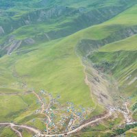 Вид с горы Сирх, Джилы-Су, КЧР :: Макс Сологуб