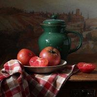 Августовские помидоры :: Карачкова Татьяна