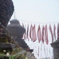 Индия. Сикким. Ступы буддийского храма :: Gal` ka